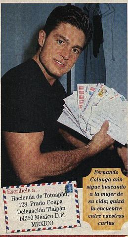 Contact Fernando!!!